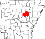 Map of Arkansas showing White County - Click on map for a greater detail.