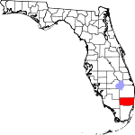 Map of Florida showing Broward County - Click on map for a greater detail.