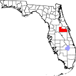 Map of Florida showing Orange County - Click on map for a greater detail.