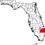 Map of Florida showing Palm Beach County - Click on map for a greater detail.