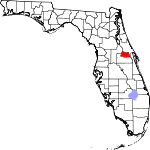 Map of Florida showing Seminole County - Click on map for a greater detail.