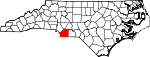 Map of North Carolina showing Union County - Click on map for a greater detail.
