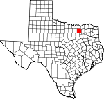 Map of Texas showing Collin County - Click on map for a greater detail.