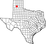 Map of Texas showing Randall County - Click on map for a greater detail.